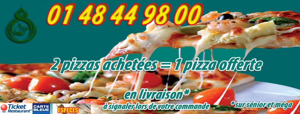 accueil pizza